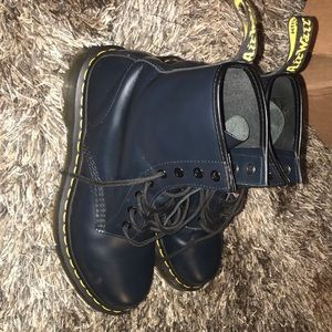 Authentic 1460 Smooth Navy Dr. Martens